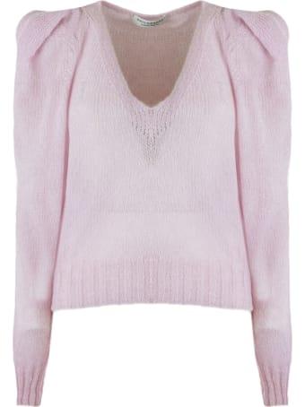 Philosophy di Lorenzo Serafini Candy Pink Mohair Blend Sweater