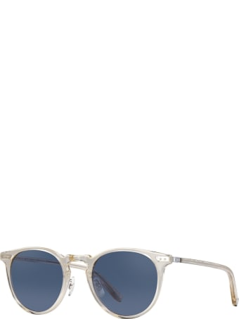 Garrett Leight Ocean Ch-s-nvy Sunglasses