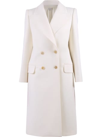 Alexander McQueen Double Breasted Coat