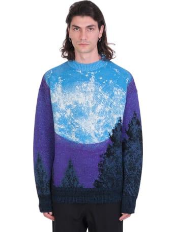 Bonsai Knitwear In Blue Wool