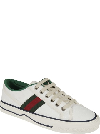 Gucci Signature Side Stripe Detail Sneakers