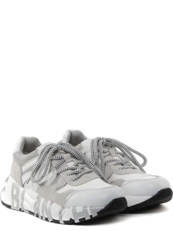 Voile Blanche Club 100 Sneakers In Cordura And Calfskin