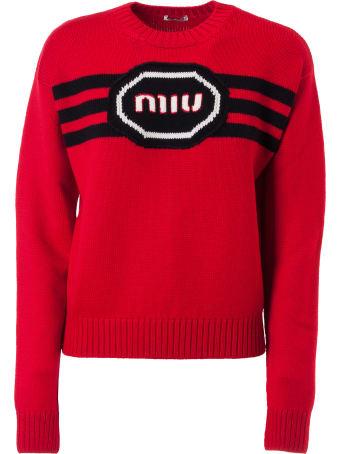 Miu Miu F5 Logo Sweater