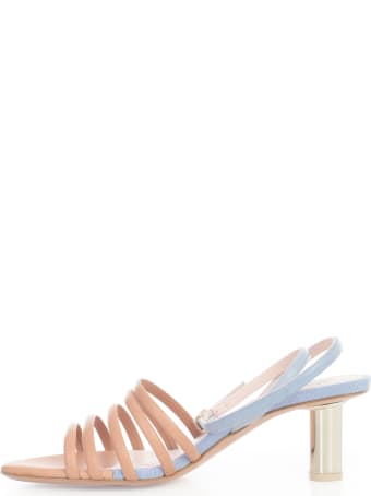 Anna Baiguera Bicolour Sandals W/heel