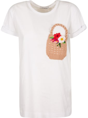 Vivetta Knitted Patch T-shirt