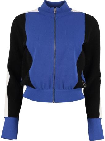 Stella McCartney Color Block Full-zip Sweatshirt
