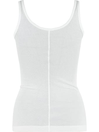 Vince Ribbed Tank Top