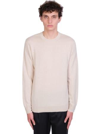 Theory Knitwear In Beige Cashmere