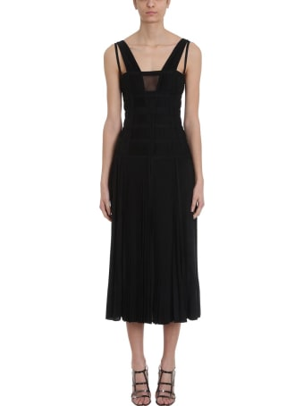 Giovanni Bedin Pleated Maxi Dress