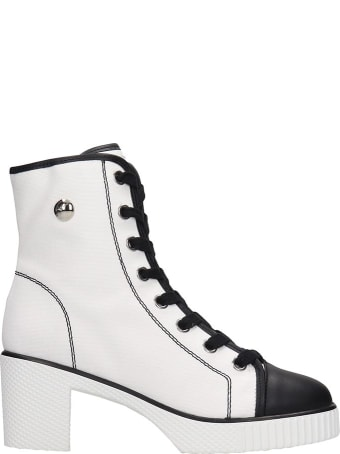 Giuseppe Zanotti Nidir Sneakers In White Leather