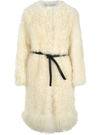 Givenchy Mid Length Fur Coat