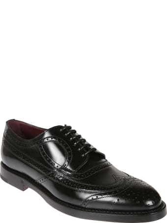 Dolce & Gabbana Classic Perforated Derby Shoes
