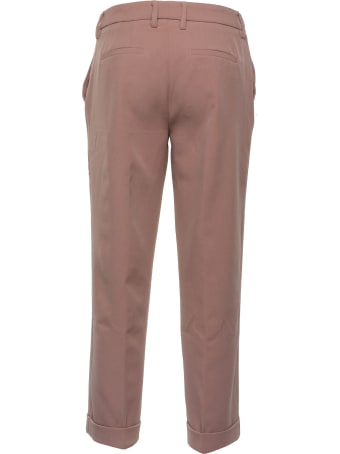 Re-HasH Re-hash Beige Trousers