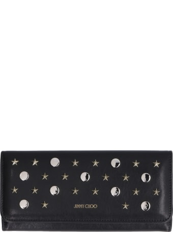 Jimmy Choo Nino Leather Flap-over Wallet