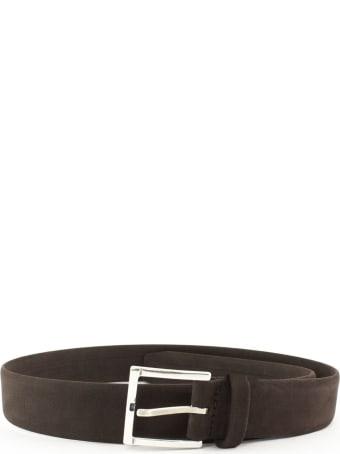 Orciani Classic Brown Nubuck Belt