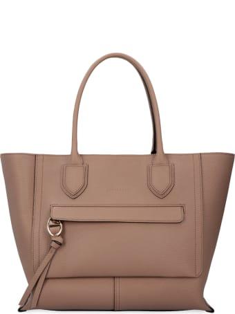Longchamp Mailbox Leather Bag