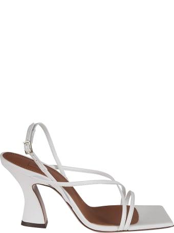 L'Autre Chose Slingback Side Buckle Sandals