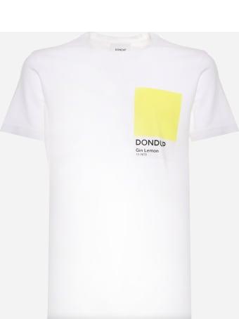 Dondup Cotton Jersey T-shirt With Pantone Print