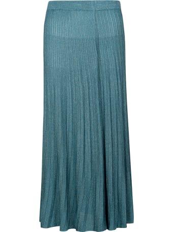 Roberto Collina Pleated Long Skirt