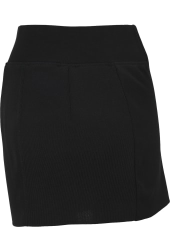 HERON PRESTON Zip Mini Skirt