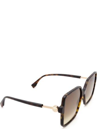 Fendi Fendi Ff 0411/s Dark Havana Sunglasses