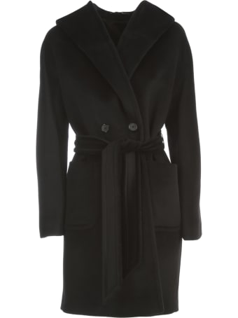 Tagliatore Wool Hooded Coat