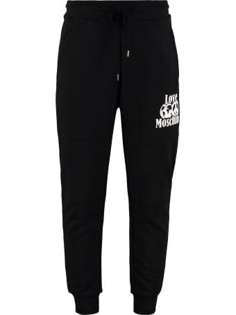 Love Moschino Stretch Cotton Track-pants
