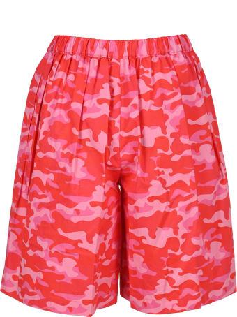 Comme Des Garçons Girl Camouflage Print Shorts