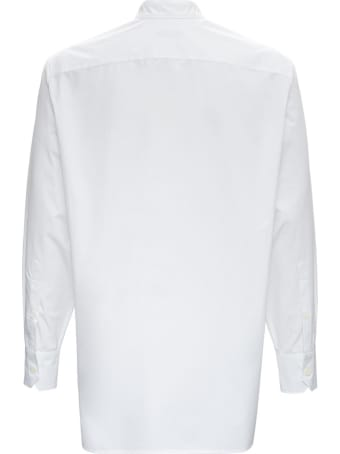 Valentino Oversized Shirt In Cotton Poplin