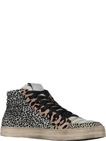 P448 S20skatebs-w Leopard Skatebs Sneakers