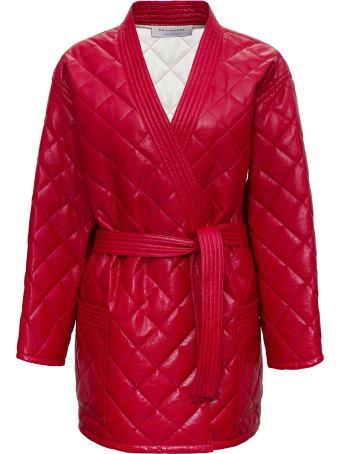 Philosophy di Lorenzo Serafini Quilted Leatheret Jacket