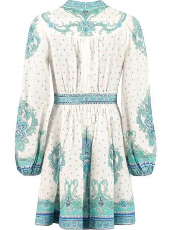 Zimmermann Printed Linen Dress
