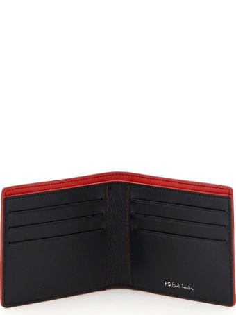 Paul Smith Zebra Stripe Bifold Wallet