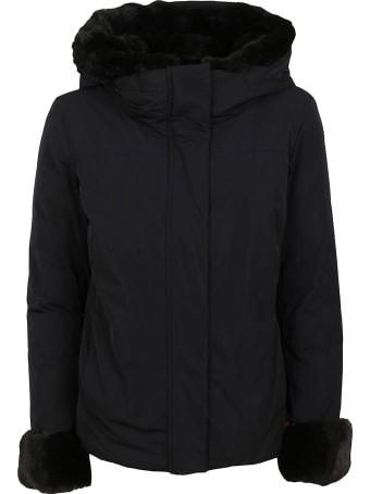 Woolrich Black Technical Fabric Jacket