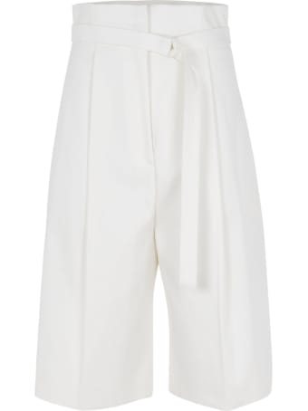 Philosophy di Lorenzo Serafini Belted Waist Cropped Trousers