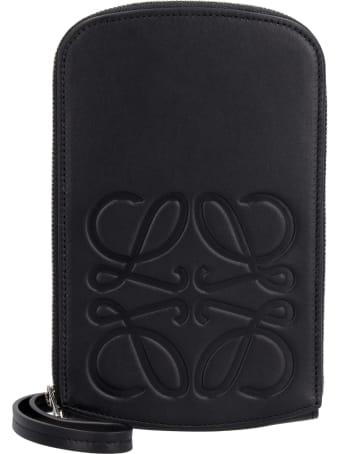 Loewe Leather Mini Crossbody Bag