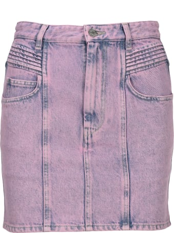 Isabel Marant Étoile Im Etoile Hondo Denim Skirt