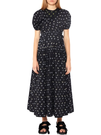 Cecilie Bahnsen Panel Dress With Wrap-over Bandeau