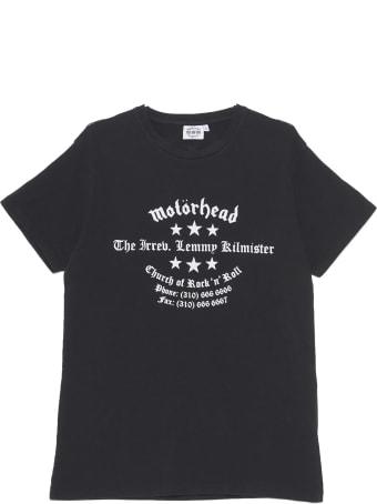 SSS World Corp 'kaye Cross Motorhead' T-shirt