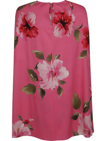 Valentino Floral Print Short Dress