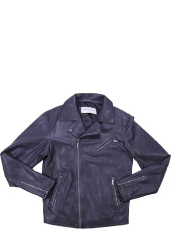 John Galliano Black Leather Jacket