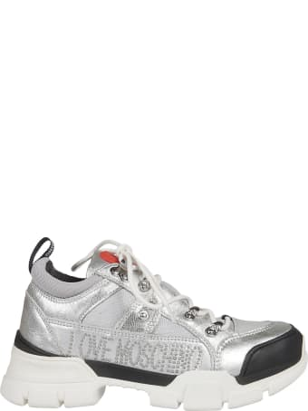 Love Moschino Studded Logo Sneakers