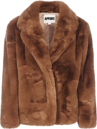 Apparis Manon Faux Fur Short Coat