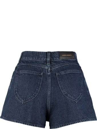 Alberta Ferretti Denim Shorts