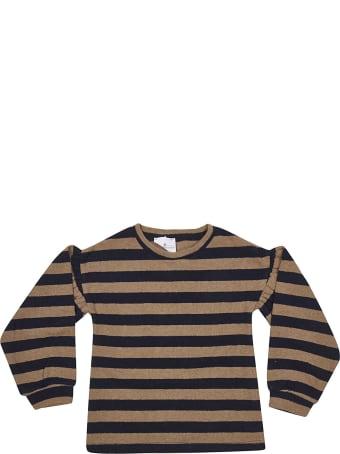 Le Petit Coco Striped Pullover