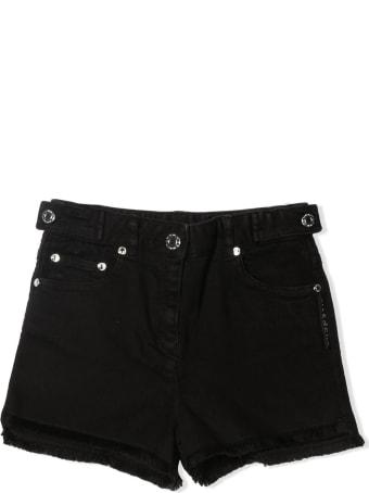 Givenchy Black Cotton Denim Shorts