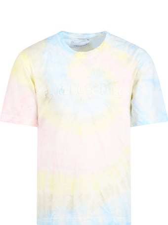 Family First Milano Tie-dye T-shirt For Kids With Logo