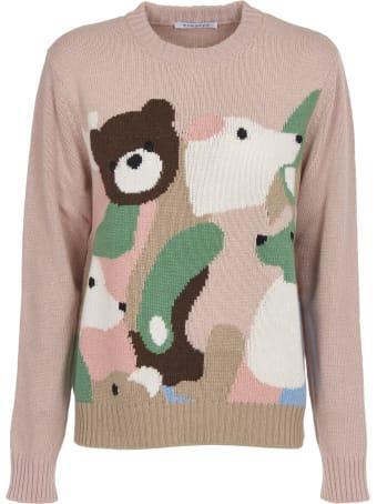 Vivetta Animal Jacquard Sweater