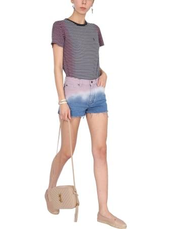 Saint Laurent Tie Dye Shorts
