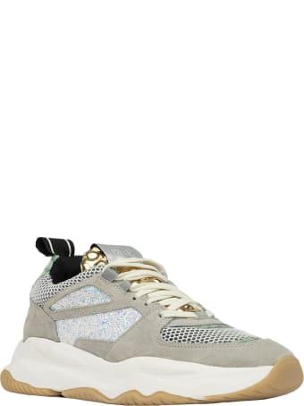 P448 S20luke-w Luke Bubble Gold Sneakers